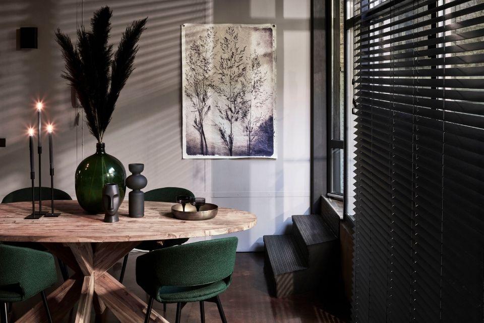 20% korting op raamdecoratie en vloerkleden